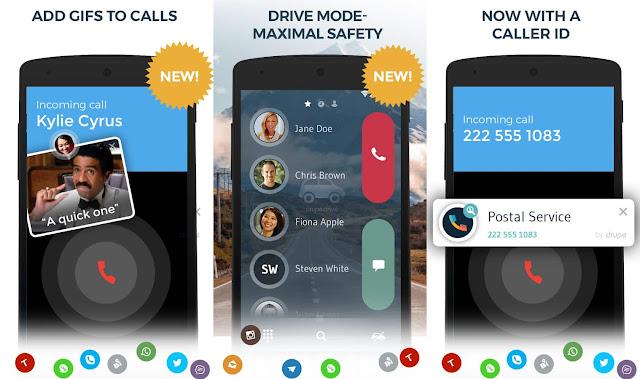 contacts phone dialer drupe pro apk