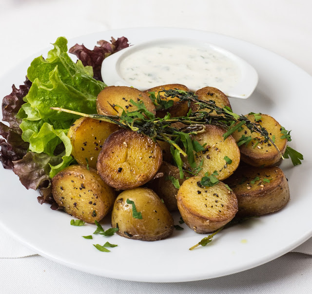 How To Make Perfect Roasted Potatoes.