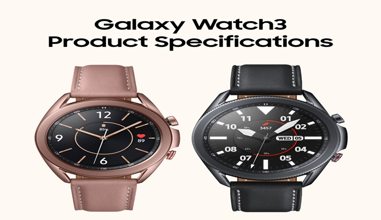 An Up-Close Look at the Galaxy Watch3 #Infographic