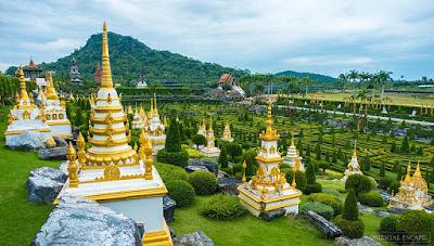 Nongnooch garden - 4D3N Bangkok Pattaya