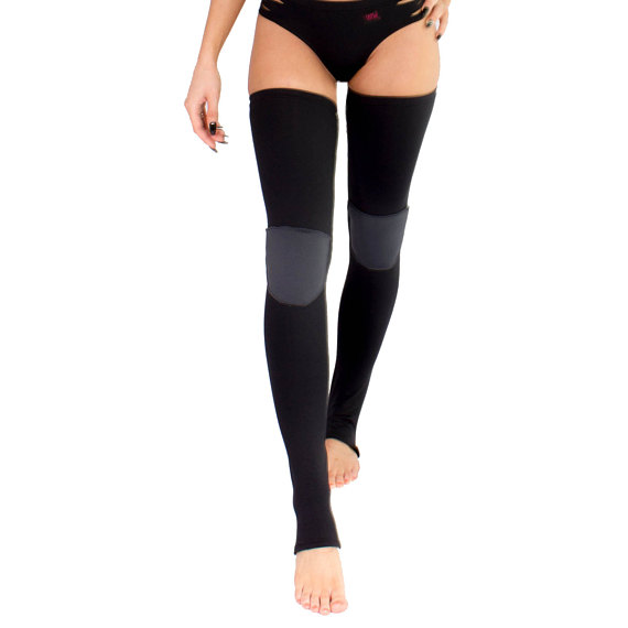 85f356ff3d70 dance teacher gift ideas. These leg warmers have knee pads to protect knees  while doing floor work ...