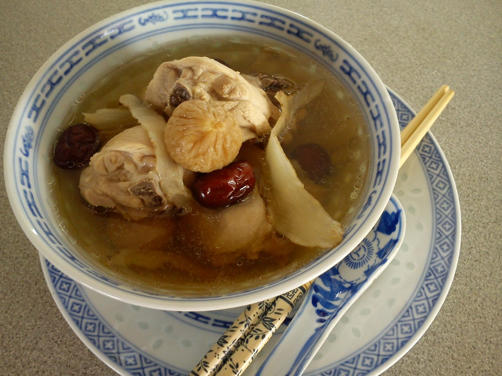 Cooking pleasure dried figs yoke chok chicken soup for How long to boil a whole chicken for soup