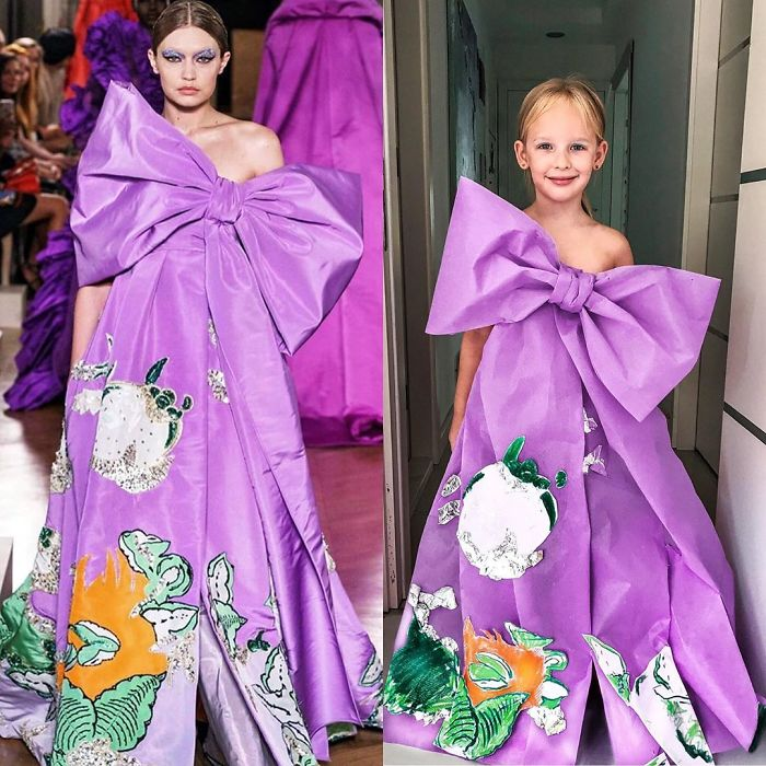 Mom Recreates Celebrities Red-Carpet Photos With Her Daughter: Who Wore it Better?