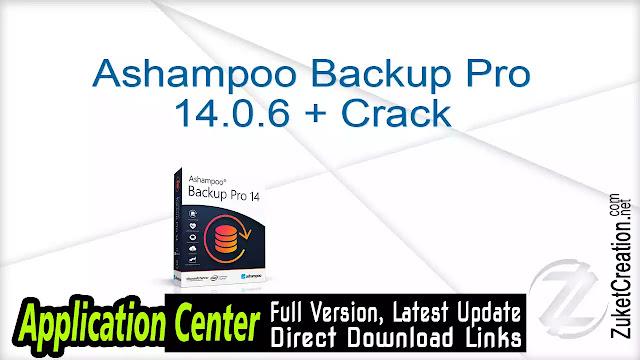 Ashampoo Backup Pro 14.0.6 + Crack