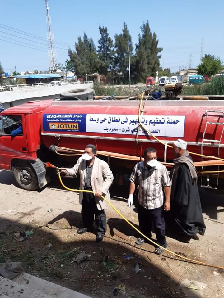 رشوان يتابع انتشار جميع فرق العمل لمواجهة مخاطر كورونا بأبو حمص
