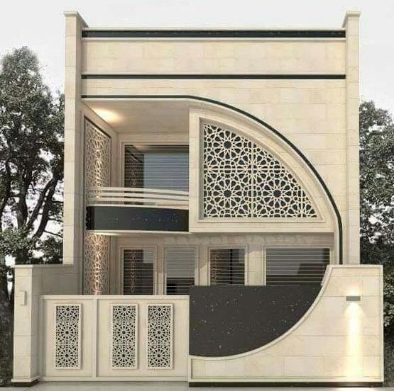 Best 60 Modern House Front Facade Design