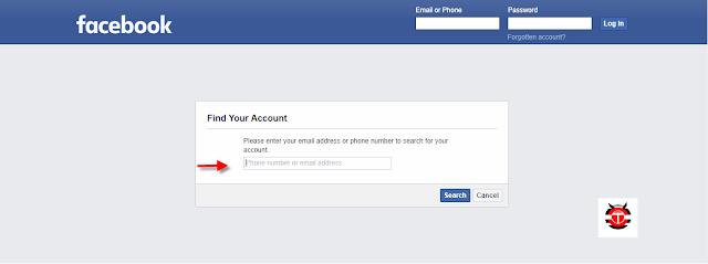 استرجاع حساب الفيس بوك بعد نسيان الايميل