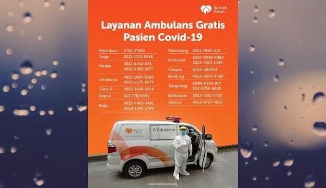 Program Rumah Zakat Ambulans Gratis
