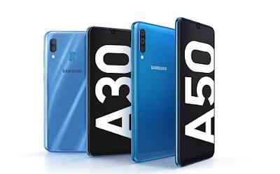 مقارنة بين هاتفيى سامسونج Galaxy A30 و Galaxy A50