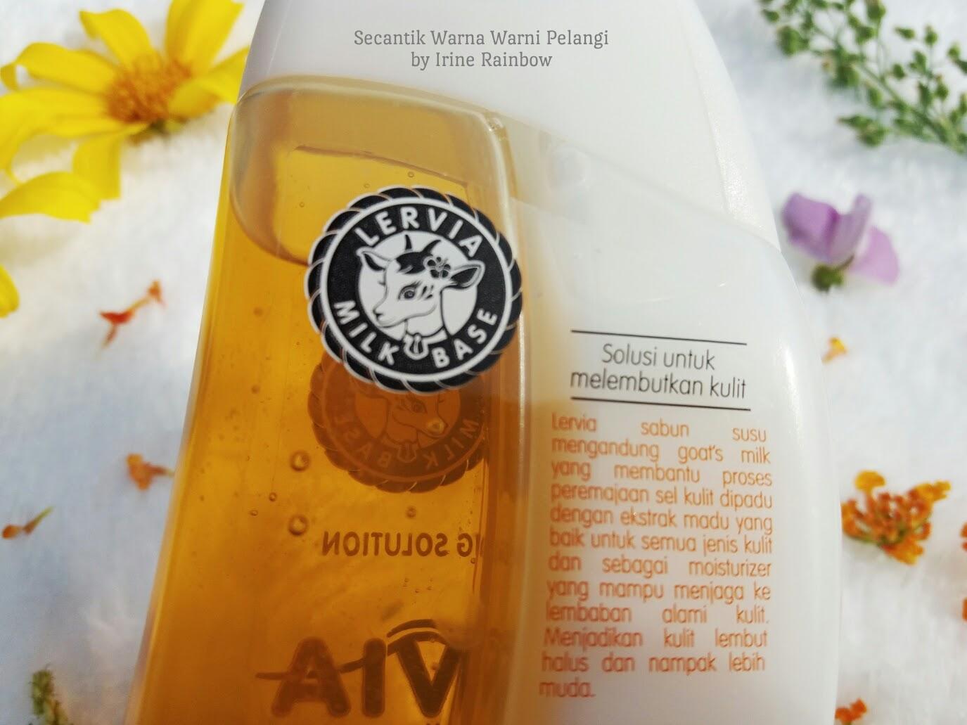 Review Lervia Milk Shower Cream Plus Honey Citra Sabun Lulur Pearly White Batang Dapat 2 Adalah Mandi Yang Mengandung Goats Atau Susu Kambing Membantu Proses Peremajaan Sel Kulit Dipadu Dengan