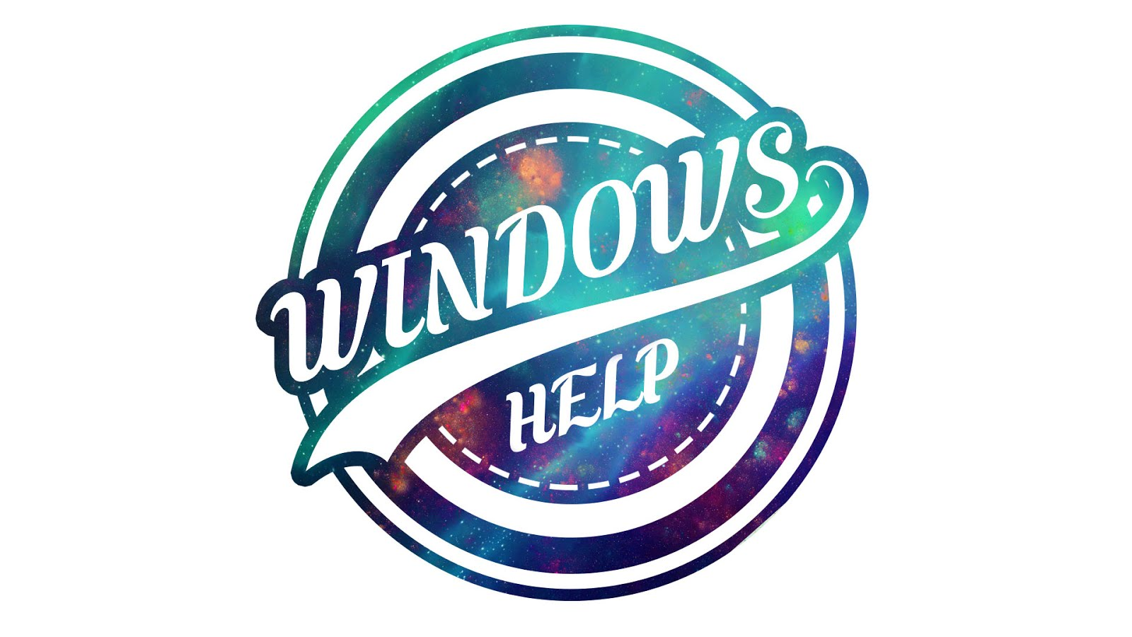 The Windows Help