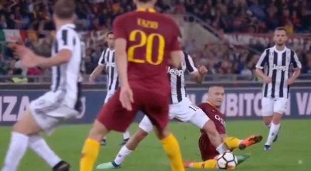 Roma Juventus le pagelle: Rugani il migliore, Nainggolan il peggiore