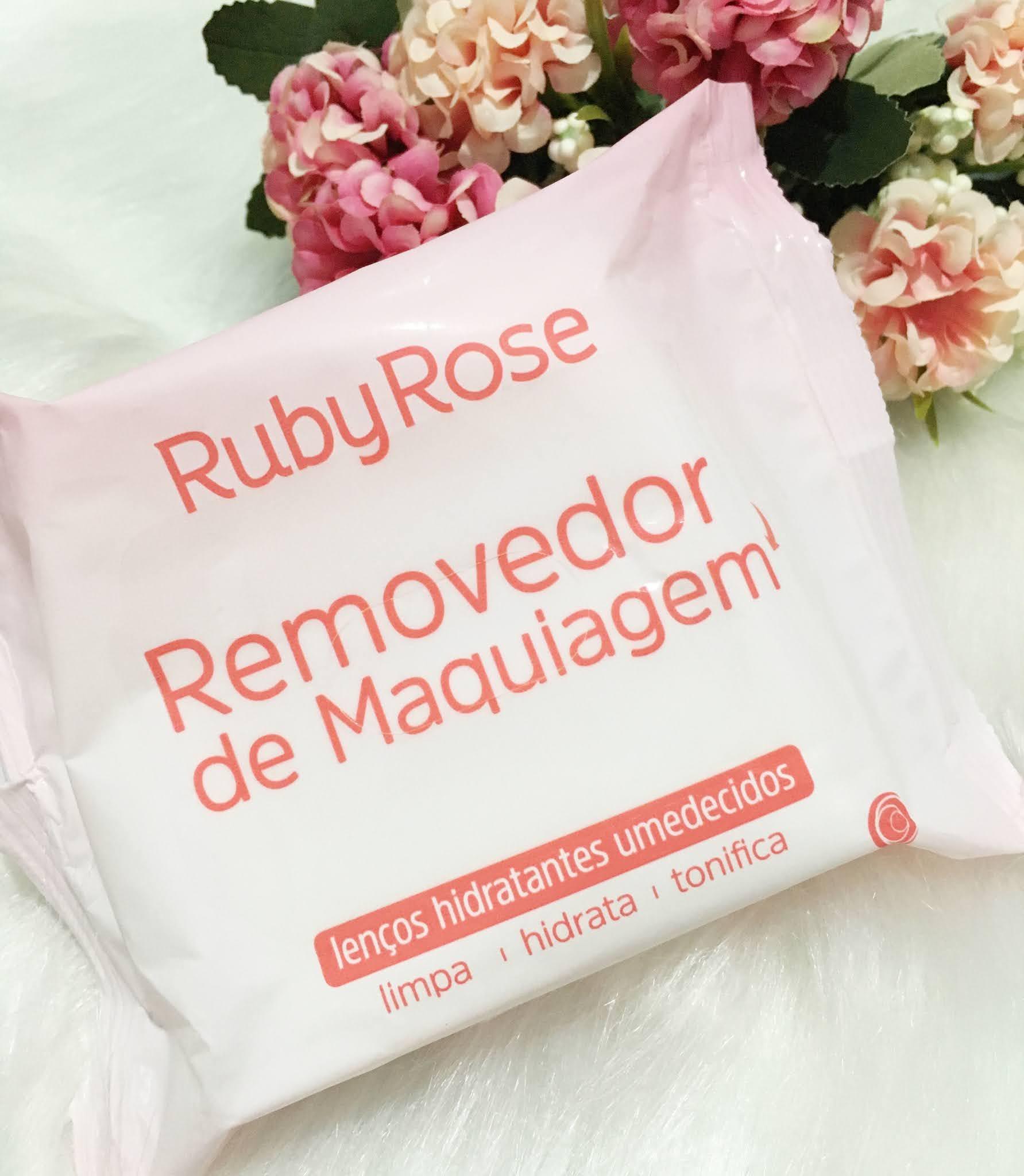 RESENHA: LENÇO REMOVEDOR DE MAQUIAGEM DA RUBY ROSE.