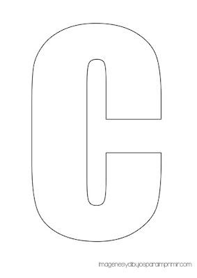 Letras del abecedario para imprimir en pdf
