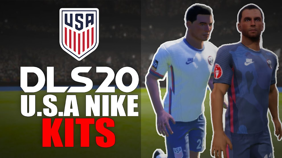 The United State USA 2020 Nike Kit - DLS20 Kits