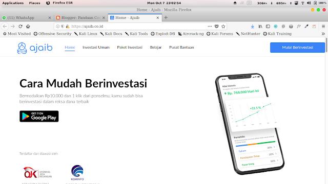 Ajaib.co.id Website Terbaik Untuk Berinvestasi