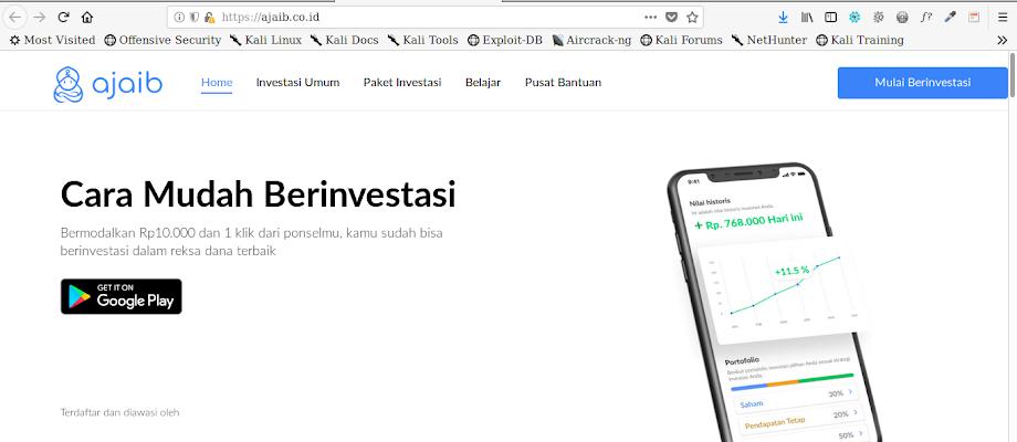 Ajaib.co.id Website Terbaik Untuk Berinvestasi Dengan Mudah Dan Aman