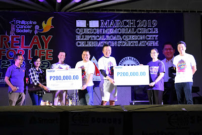 Brother Group continues cancer awareness tradition in Philippines, joins Quezon City Relay for Life 2019