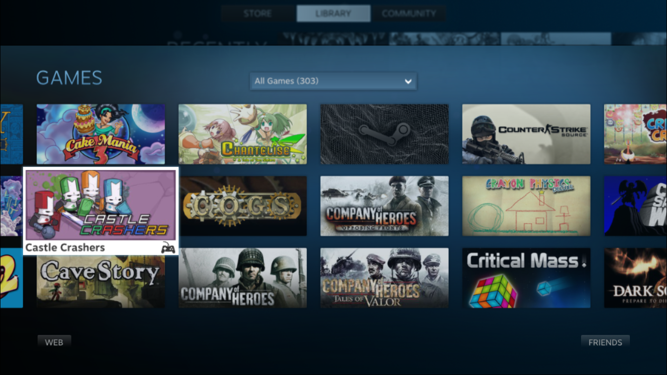 Been using Steam's Big Picture Mode it needs more local co