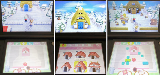 Nintendo 3DS/ 2DS, Animal Crossing, Exterior and Interior Design Game