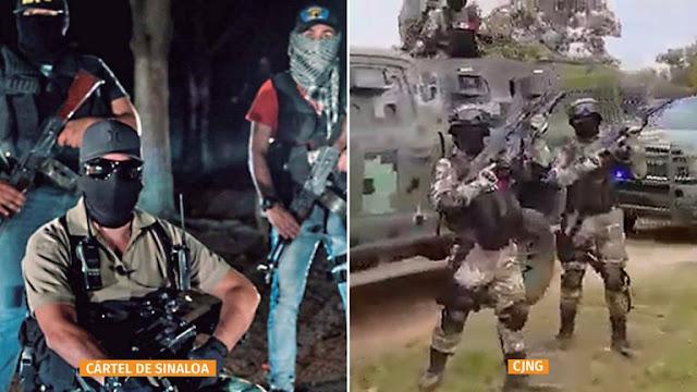 Sicarios del Cártel de Sinaloa y El CJNG se enfrentaron y amenazaron al reconocerse en prisión