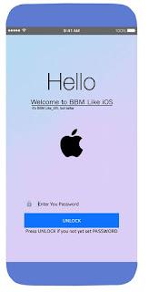 BBM Like iOS Update v3.3.2.31