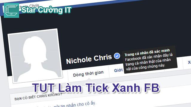 Tut Verify Tick Xanh Facebook Cá Nhân Và Fanpage Cực Chất