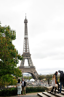 One of the best viewing angle to Tower Eiffel in Paris