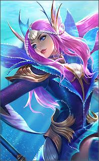Odette Mermaid Princess Heroes Mage of Skins V1