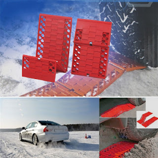 Foldable Anti-skid Plat Mud Tires Protection