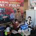 Kapolres Ngawi Cek Percepatan Vaksinasi di Gerai Vaksin Presisi Polres Ngawi