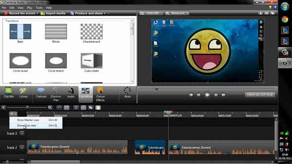 Software edit video terbaik yang bisa dicoba - Camtasia