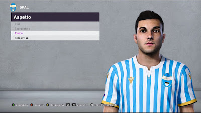 PES 2020 Faces Gabriel Strefezza by Andò12345