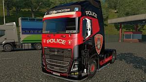 Police Volvo 2013 V2