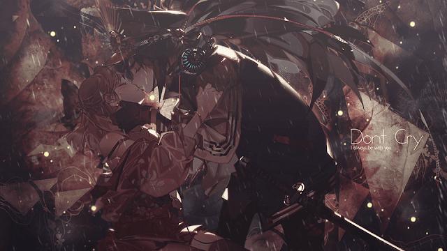 Okita x Nobunaga - Fate/Grand Order Wallpaper