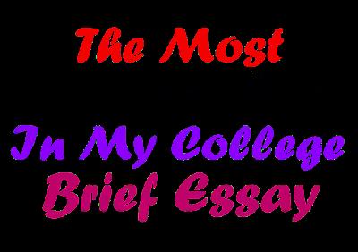 The Most Popular Boy of My College Brief Essay