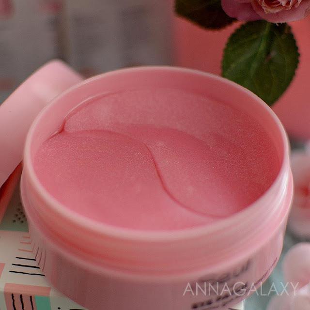 Гидрогелевые патчи для кожи вокруг глаз Faberlic Iseul Eye Patch розового цвета