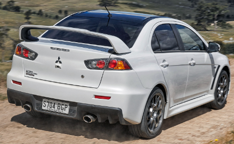 2018 Lancer Evolution rear View