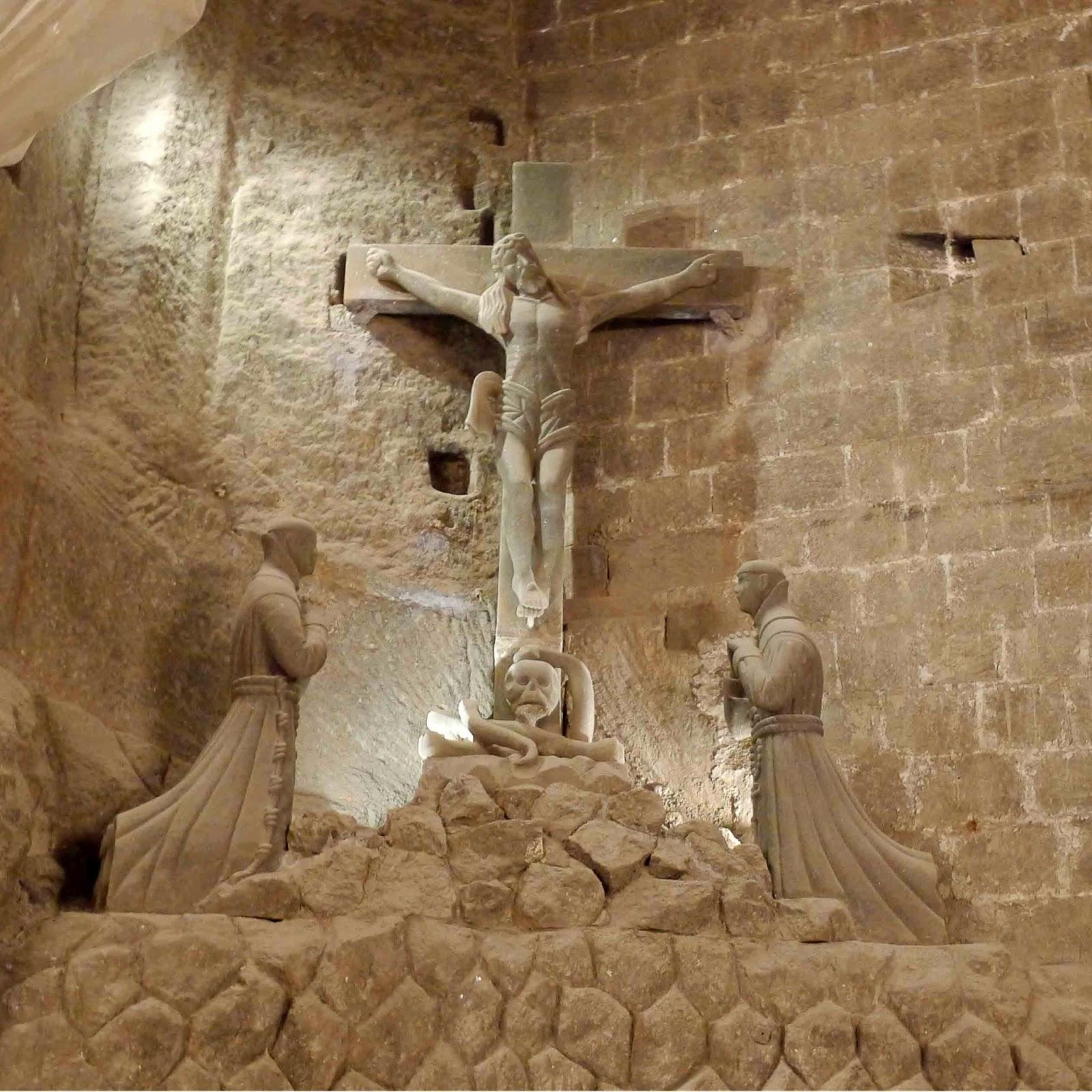Wieliczka Salt Mine Crucifixion