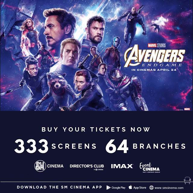 SM Cinema Set to Open 333 Screens Across 64 Branches for AVENGERS: ENDGAME