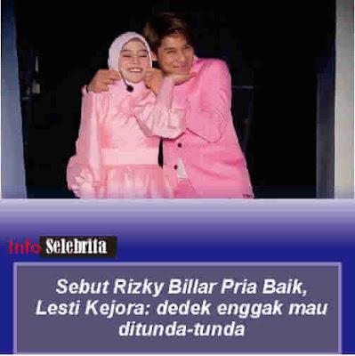 Lesti Kejora dan Rizky Billar
