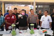 Polresta Banda Aceh Musnahkan Barang Bukti Sabu