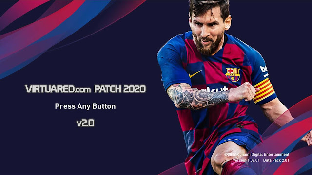 Virtuared Patch 2020 V.2.0 For eFootball PES20