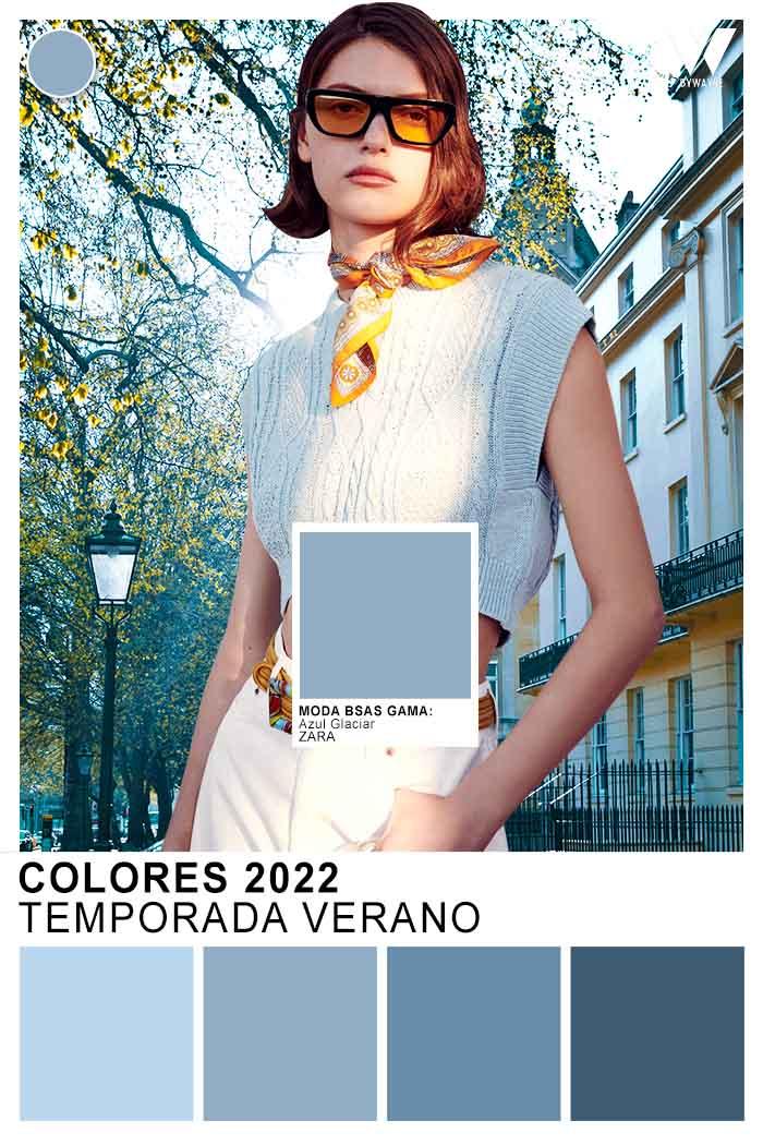 celeste primavera verano 2022 moda colores 2022