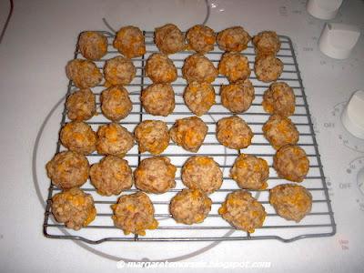 Margaret's Morsels   Sausage Balls
