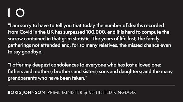 We have exceeded 100000 losses of life message from boris