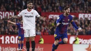 تقرير مباراة برشلونة واشبيلية اليوم