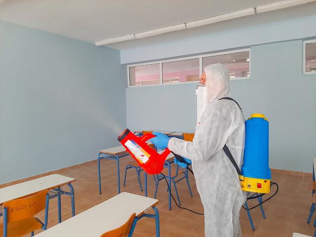 Με την απολύμανση των κτιρίων που έγινε, η Κτιριακές Υποδομές ΑΕ παραδίδουν και το συγκρότημα Γυμνασίου – Λυκείου Καναλακίου, μετά από το ΕΠΑΛ Καναλακίου και το 1ο Δημοτικό Σχολείου Καναλακίου.