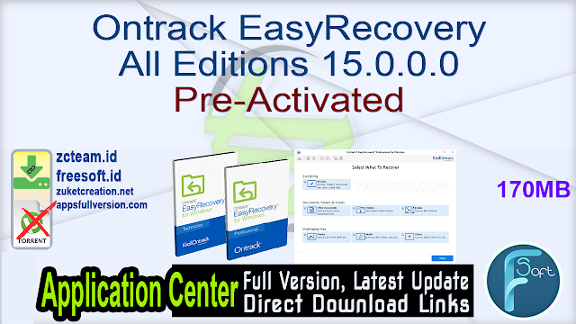 Ontrack EasyRecovery All Editions 15.0.0.0 Pre-Activated_ ZcTeam.id