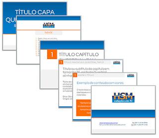 Diagramação de documentos para HSM Soluções em T.I. por Minuta Linguagem Visual
